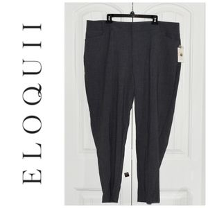 Eloquii Grey Career Pants Size 20R NWT